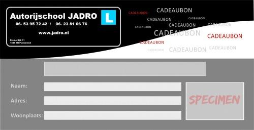 Cadeaubon Jadro